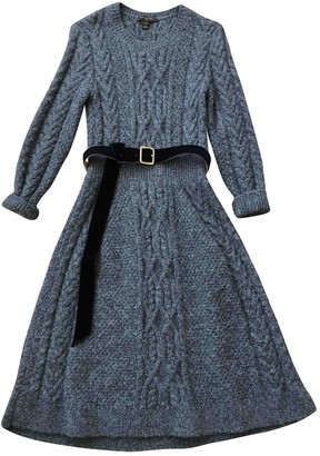 Louis Vuitton Grey Wool Dresses