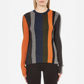 Paul Smith Women's Khaki Lurex Jumper Multi