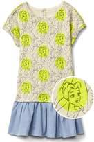 Gap babyGap | Disney Baby Belle drop-waist dress