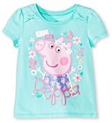 Peppa Pig Toddler Girls' Peppa Pigs Short Sleeve T-Shirt - Mint