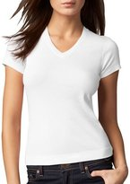 Three Dots V-Neck Tee