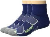 Feetures Merino+ Cushion Quarter 3-Pair Pack