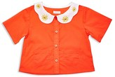 Margherita Kids Girls' Daisy Cropped Top - Sizes 2-7