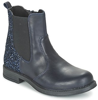 Citrouille et Compagnie FAGIMO girls's Mid Boots in Blue