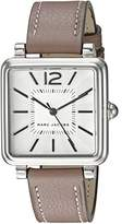 Marc Jacobs Women's Vic Cement Leather Watch - MJ1518