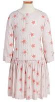 Stella McCartney Girl's 'Cosmic Star' Drop Waist Dress