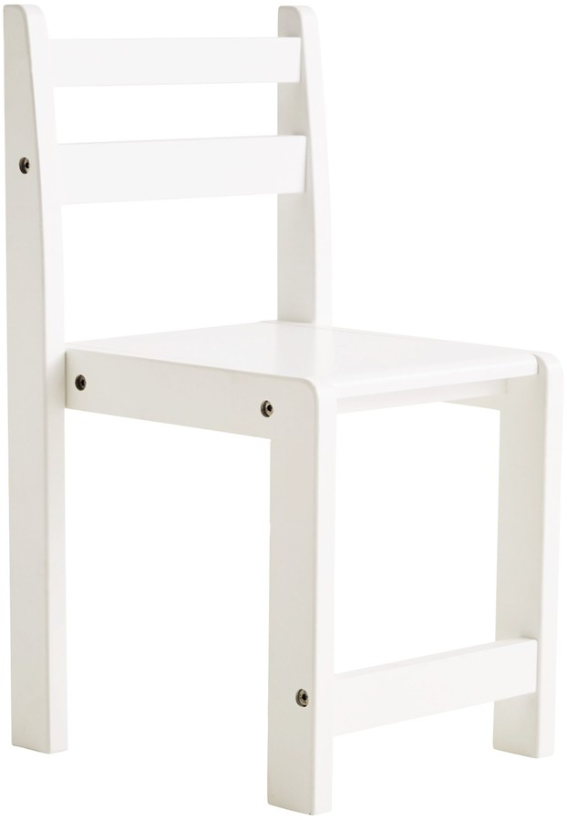 Great Little Trading Co Pied Piper Toddler Chair, White