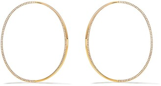 Delfina Delettrez 18kt rose gold Big Earclipse diamond hoops