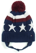 Tommy Hilfiger Pom-Pom Star Tie Hat