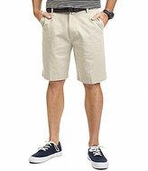 Nautica Anchor Twill Flat-Front Shorts