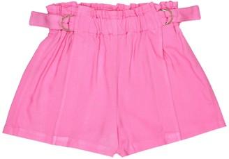Chloé Kids High-rise shorts