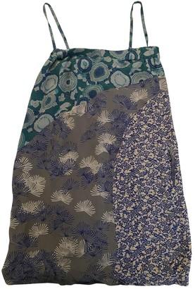 Stella Forest Multicolour Silk Dress for Women