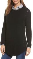 Women's Caslon Rib Knit Cotton Tunic
