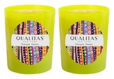Qualitas Candles Ginger Grass Candles (6.5 OZ) (Set of 2)