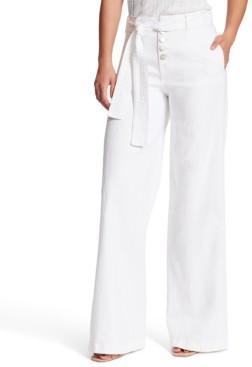Sanctuary Nonconformist Belted Wide-Leg Jeans