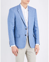 Gieves & Hawkes Gieves & Hawkes Regular-fit Linen Jacket