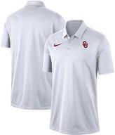 Nike Men's White Oklahoma Sooners Franchise Performance Polo