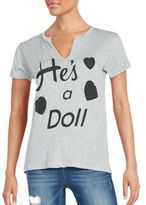 Wildfox Couture He's A Doll Woody Tee