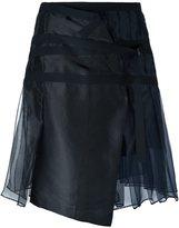 Sacai organza a-line skirt
