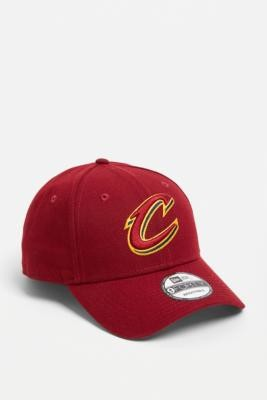New Era 9FORTY NBA Cleveland Cavaliers Baseball Cap - Red ALL at Urban Outfitters