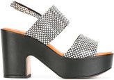 Robert Clergerie platform sandals - women - Leather - 37.5