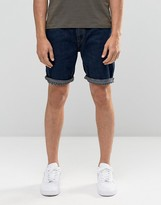 Bellfield Denim Shorts in Indigo