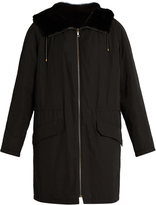 Yves Salomon Reversible nylon and mink-fur parka