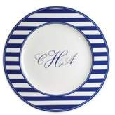 Caskata Personalized Beach Towel Stripe Charger Plate