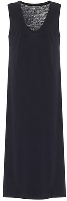 Velvet Alexandra cotton midi dress
