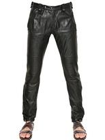 Belstaff Nappa Leather Biker Trousers