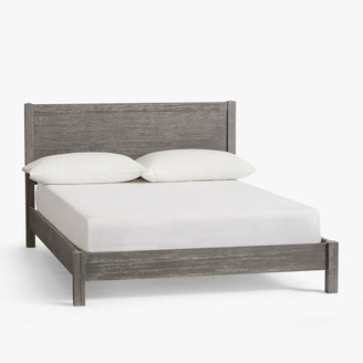 Pottery Barn Teen Costa Classic Bed - Brushed Charcoal