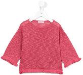 Babe And Tess - frayed jumper - kids - Cotton/Linen/Flax - 5 yrs