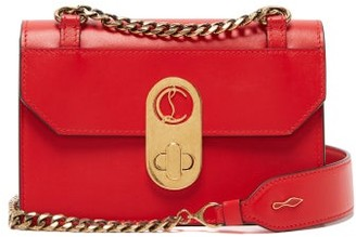 Christian Louboutin Elisa Mini Leather Cross-body Bag - Red