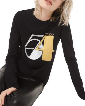 Michael Kors Studio 54 Long-Sleeve Tee
