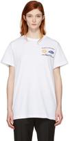 Off-White Ssense Exclusive White Work T-shirt