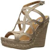 Not Rated Women's Anatolia Wedge Sandal, 9 M US