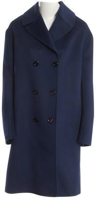 Gucci Navy Wool Coat for Women