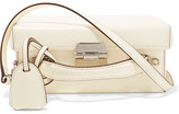 Mark Cross Grace Small Leather Shoulder Bag - Ivory