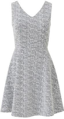 Mela London Textured Skater Dress
