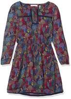 Fat Face Girl's Woodland Print Dress