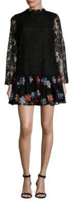 Kas Cynthia Floral Mini Dress