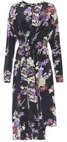 Isabel Marant Iam floral-printed silk dress