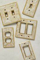 Anthropologie Natural Grain Switch Plate