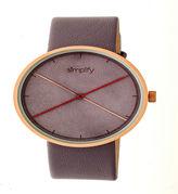 Simplify Unisex Gray Strap Watch-Sim4105