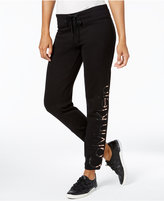 Calvin Klein Metallic Logo Sweatpants