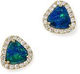 Meira T 14K Yellow Gold Opal Stud Earrings