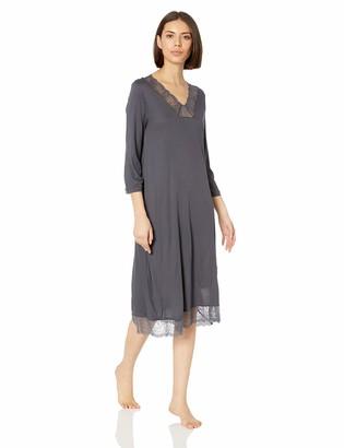 Hanro Women's Jolina 3/4 Sleeve Gown