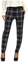 Juicy Couture Eton Plaid Pant (Regal Eton Plaid) - Apparel