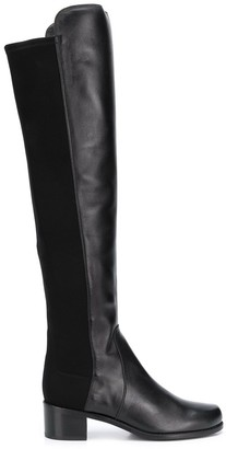 Stuart Weitzman 45mm Panelled Knee Length Boots