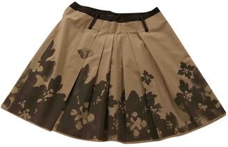Philosophy di Alberta Ferretti Ecru Cotton Skirt for Women